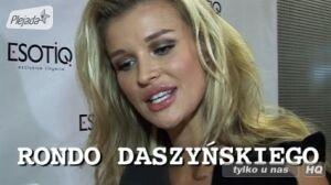 Zobacz, jak Joanna Krupa czyta[br] nazwy stacji II linii metra