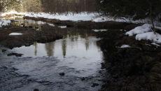 Lód na dwóch polskich rzekach