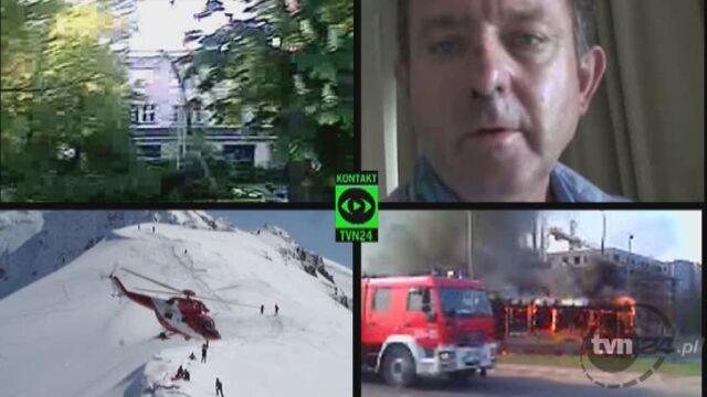 Filmy przysłane na Kontakt TVN24