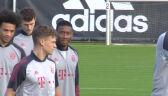 Trening Bayernu przed meczem z Red Bull Salzburg