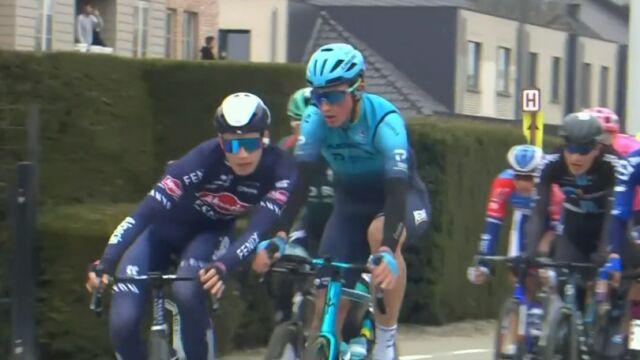 Niebezpieczny incydent na trasie Tour of Flanders. Zdyskwalifikowano kolarzy