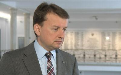 Mariusz Błaszczak krytykuje politykę PO wobec Ukrainy