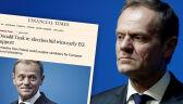 Europejski Nakaz Aresztowania za Tuskiem? Komentują politycy
