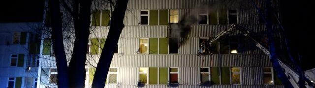 """""""Na korytarzach było pełno dymu. Strażak  mnie wyprowadził. Sama bym nie dała rady"""""""