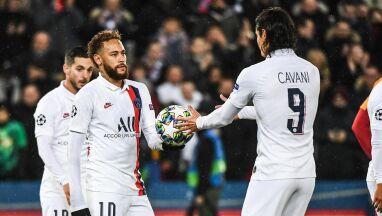 Koniec konfliktu. Neymar przekazał piłkę Cavaniemu