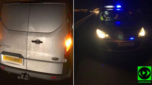 Jechał wężykiem po autostradzie, inni kierowcy zorganizowali skuteczną blokadę