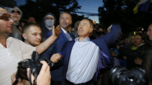 Były minister skazany za rzut kamieniem w rosyjską ambasadę