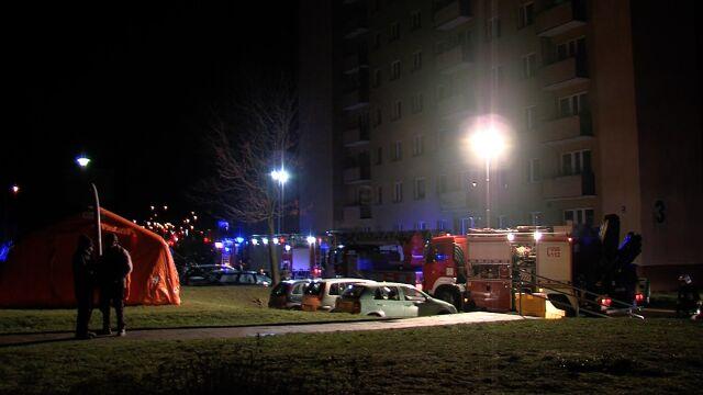 W bloku w Tczewie ulatniał się gaz. Ewakuacja mieszkańców