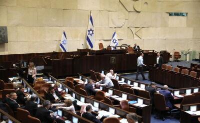 Izraelski parlament zdecydował o samorozwiązaniu