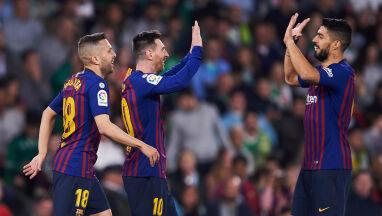 Messi czarował. Nawet kibice Betisu bili mu brawo