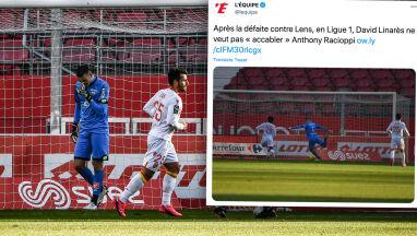 O tym golu mówi cała Francja. Bramkarz Dijon powinien spalić się ze wstydu
