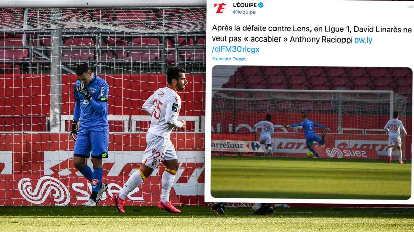 O tym golu mówi cała Francja. Bramkarz powinien spalić się ze wstydu