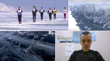 Polak ukończył ekstremalny maraton po zamarzniętym Bajkale.