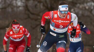 Norweskie biegaczki poza konkurencją. Polki musiały zejść z trasy sztafety