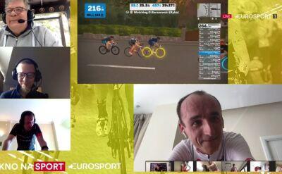 Kubica po 3. etapie ORLEN eTour de Pologne Amatorów