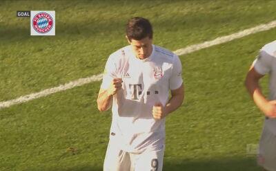 Skrót meczu Union Berlin - Bayern w 26. kolejce Bundesligi