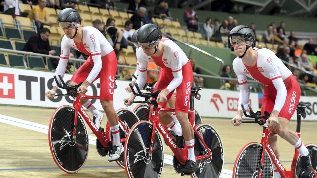 Bez polskich medali na otwarcie mistrzostw świata w kolarstwie torowym