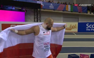 Haratyk halowym mistrzem Europy w pchnięciu kulą