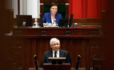 Całość sejmowego przemówienia Jarosława Kaczyńskiego