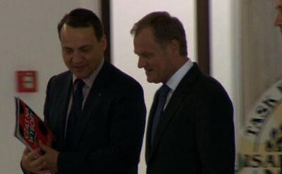 Donald Tusk przybył do Sejmu