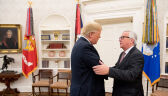 Jean-Claude Juncker spotkał się z Donaldem Trumpem