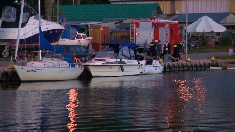 Nastolatka wypadła z łodzi. Akcja poszukiwawcza przerwana