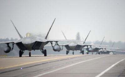 Myśliwce F-22 w Wielkiej Brytanii
