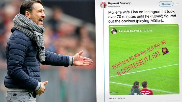"""Trenerowi Bayernu dostało się od żony piłkarza. """"Ona mnie kocha, co mogę z tym zrobić?"""""""