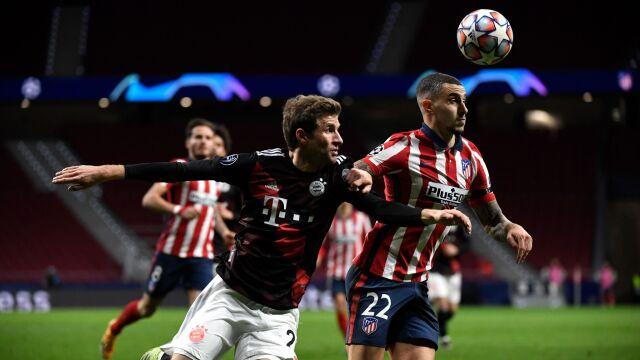 Zabrakło kilku minut, by pokonać Bayern. Mueller godnie zastąpił Lewandowskiego