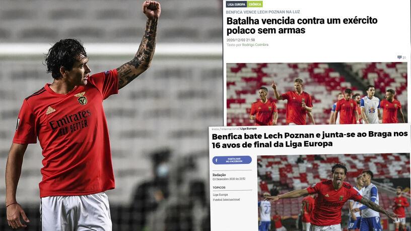 """""""Bez argumentów. Nie wiedzieli, co się dzieje"""". Portugalskie media ostro o Lechu"""