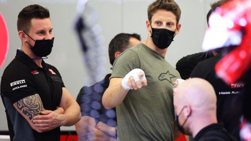 """Grosjean marzy o zakończeniu kariery w Abu Zabi. """"To byłaby piękna historia"""""""