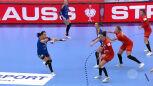 Skrót meczu Polska - Rumunia w 2. kolejce pierwszej fazy grupowej ME w piłce ręcznej kobiet