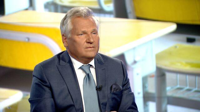 """Aleksander Kwaśniewski  w """"Faktach po Faktach"""""""