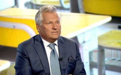 """Aleksander Kwaśniewski  w """"Faktach po Faktach"""". Cała rozmowa"""