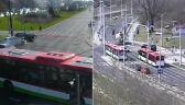 Dwa skrzyżowania, podobne wypadki. Kierowcy zignorowali czerwone światło