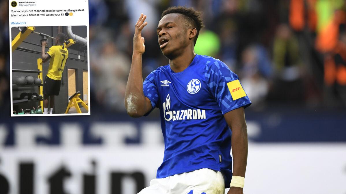 """""""Nie ma usprawiedliwienia dla mojej niedojrzałości"""". Piłkarz Schalke przeprasza kibiców"""