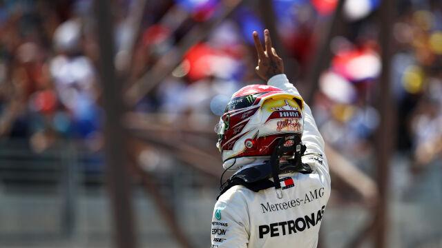 Hamilton dalej jeździ w swojej lidze. Kubica nie był ostatni w Grand Prix Francji
