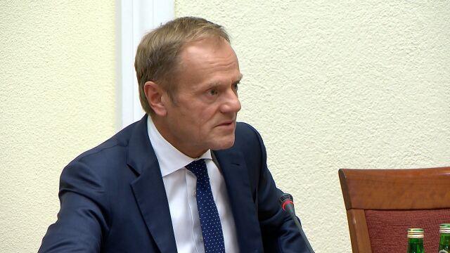 Tusk: walczyliśmy o to, żeby utrzymać Polskę na powierzchni, a nie żeby wpadła pod wodę