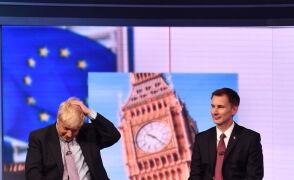 Konkurenci do zastąpienia May rywalizowali w debacie TV