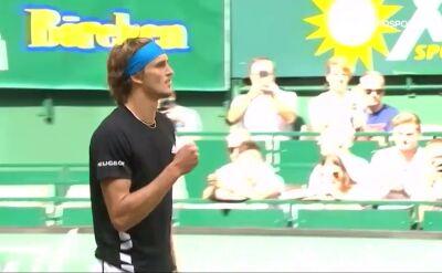 Zverev ograł Johnsona w 2. rundzie turnieju ATP w Halle