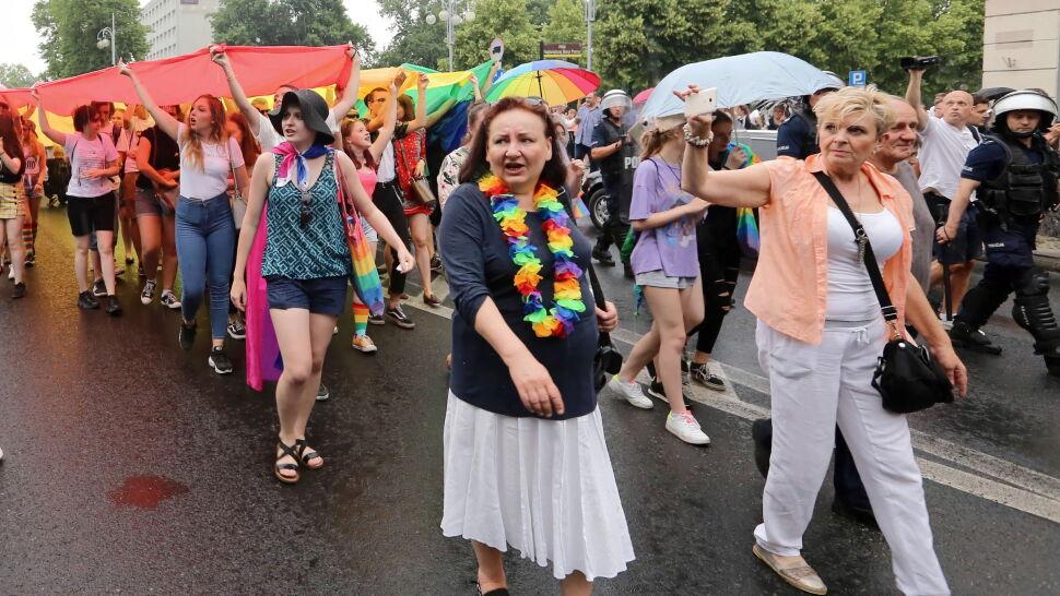 """""""Wolność, równość, tolerancja"""". Marsz równości na ulicach Częstochowy"""