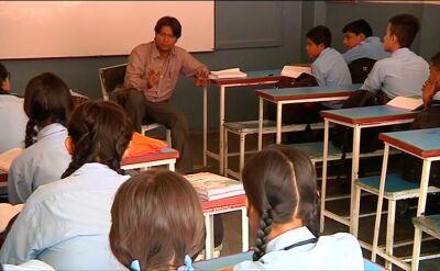Szkoła w Katmandu (nagranie archiwalne z 2015 roku)