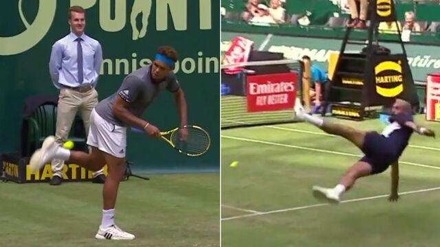 Francuscy tenisiści pokazali piłkarskie sztuczki na korcie. Nawet Ronaldo by się nie powstydził