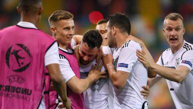 Świetny początek obrońców tytułu. Niemcy nie dali szans Duńczykom