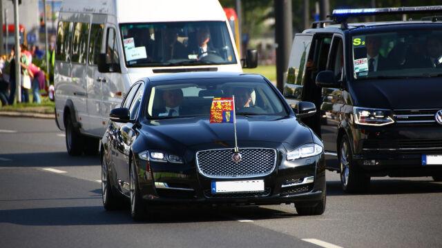 Wypadek z udziałem książęcej eskorty. 83-latka trafiła do szpitala