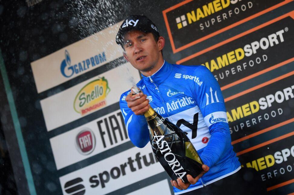 Historyczny sukces Kwiatkowskiego. Wygrał wyścig Tirreno - Adriatico