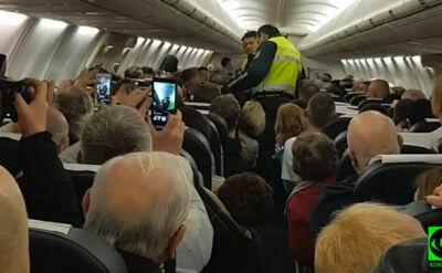 Awaryjne lądowanie na lotnisku w Sofii