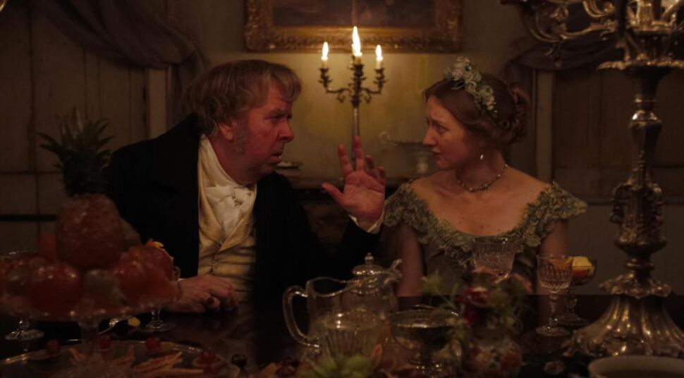 Timothy Spall i Eleanor Yates