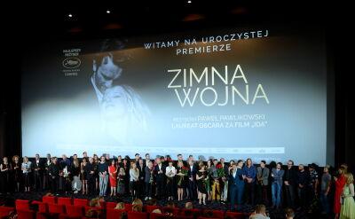 """Uroczysta polska premiera """"Zminej wojny"""" Pawła Pawlikowskiego"""