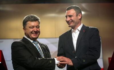 Reporter TVN24 o wyborach w Doniecku
